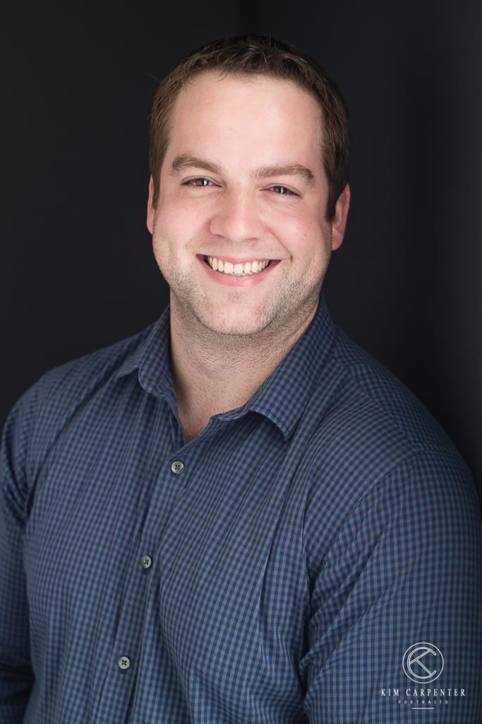 Man with a big smile on his face. Lakeland Photographer, professional headshots