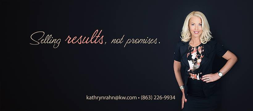 Example of personal branding banner for a realtor.